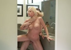 Choking Riley Steele