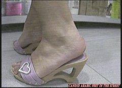 Arab Feet Women New Candid Arabic