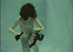 Underwater Olga Puts On A Bi