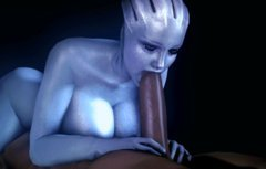 Mass Effect Characters Animated D Liara James