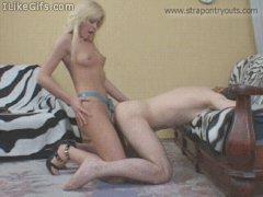 Gifs I Like Blonde Stra