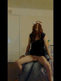 Gifs Set Ellie In Animated Halloween Fuck