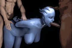 Mass Effect Characters Animated D Liara