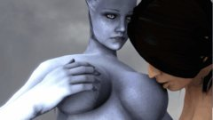 Mass Effect Characters Animated D Ashley Liara