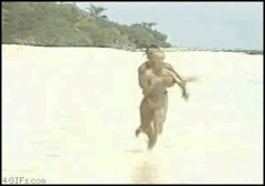 Animated Funny Sexy Hot Celeb Gross Flopping Beach Bo