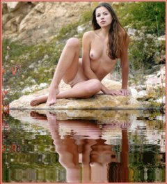 Water Reflected Nudes On