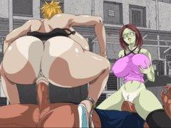 Random Anime Hentai Toon Part H