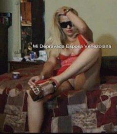 Mi depravada esposa venezolana bellisima y sexy venezolana bi