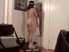 Naked exercise by Mark Heffron