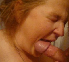 Chick Not Liking the Taste of the Cum