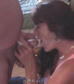 Carol Behrman blowjob at Party Cove