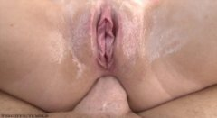 anal ride close up